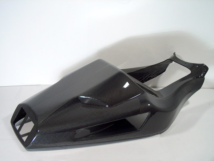【ILMBERGER】碳纖維坐墊整流罩單元 - 「Webike-摩托百貨」