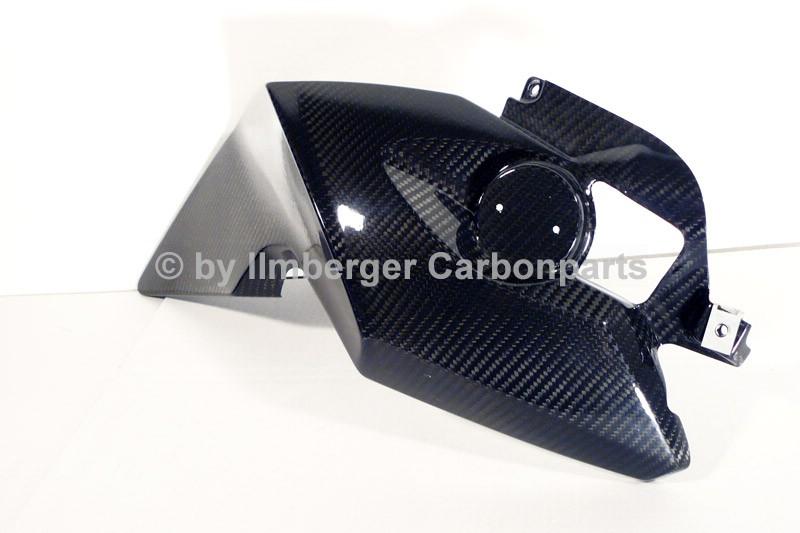【ILMBERGER】碳纖維油箱側蓋 (右) - 「Webike-摩托百貨」