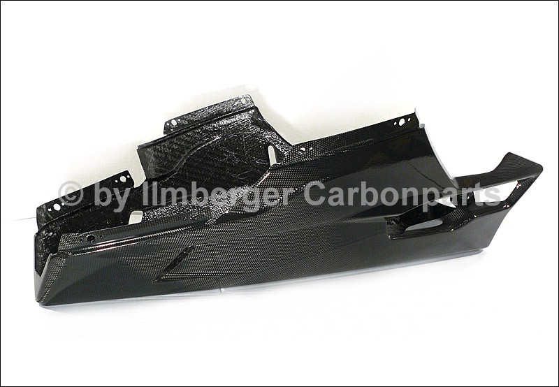 【ILMBERGER】碳纖維下整流罩 (可裝側駐) - 「Webike-摩托百貨」