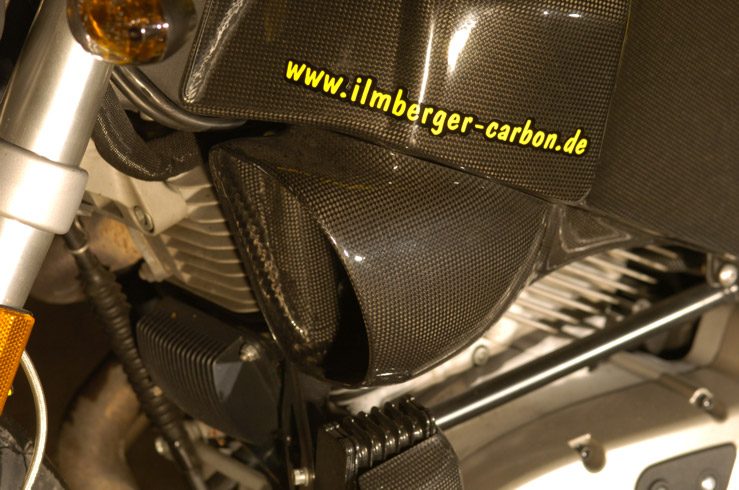 【ILMBERGER】碳纖維進氣口 (左) - 「Webike-摩托百貨」