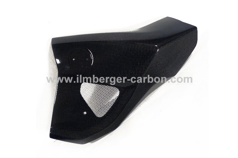 【ILMBERGER】碳纖維散熱器(水箱) 外蓋 (左) - 「Webike-摩托百貨」