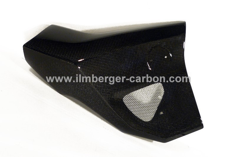 【ILMBERGER】碳纖維散熱器(水箱) 外蓋 (右) - 「Webike-摩托百貨」