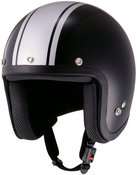 【JUQUE】Stripe四分之三安全帽 - 「Webike-摩托百貨」