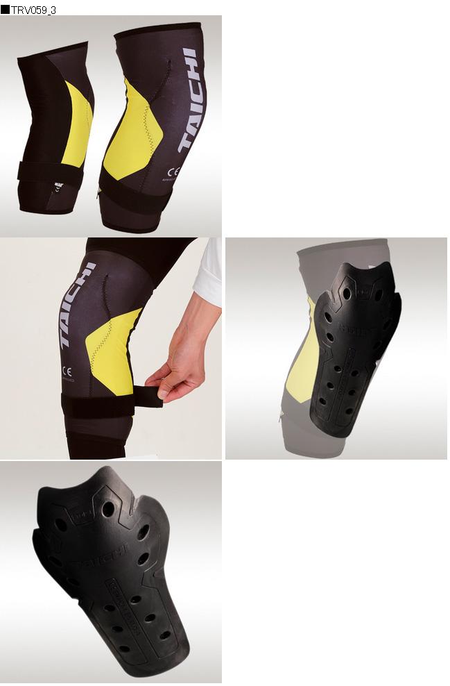【RS TAICHI】Stealth CE 護膝(一對) - 「Webike-摩托百貨」