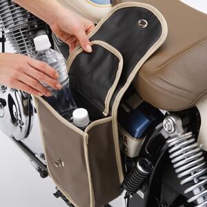 【YAMAHA】DRAGSTAR250用單邊側掛包 - 「Webike-摩托百貨」