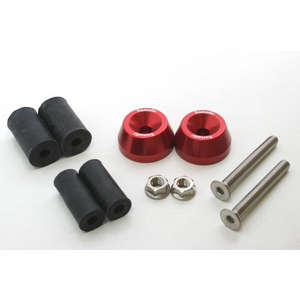 Aluminum Bar End Middle Type Tapered FANATIC