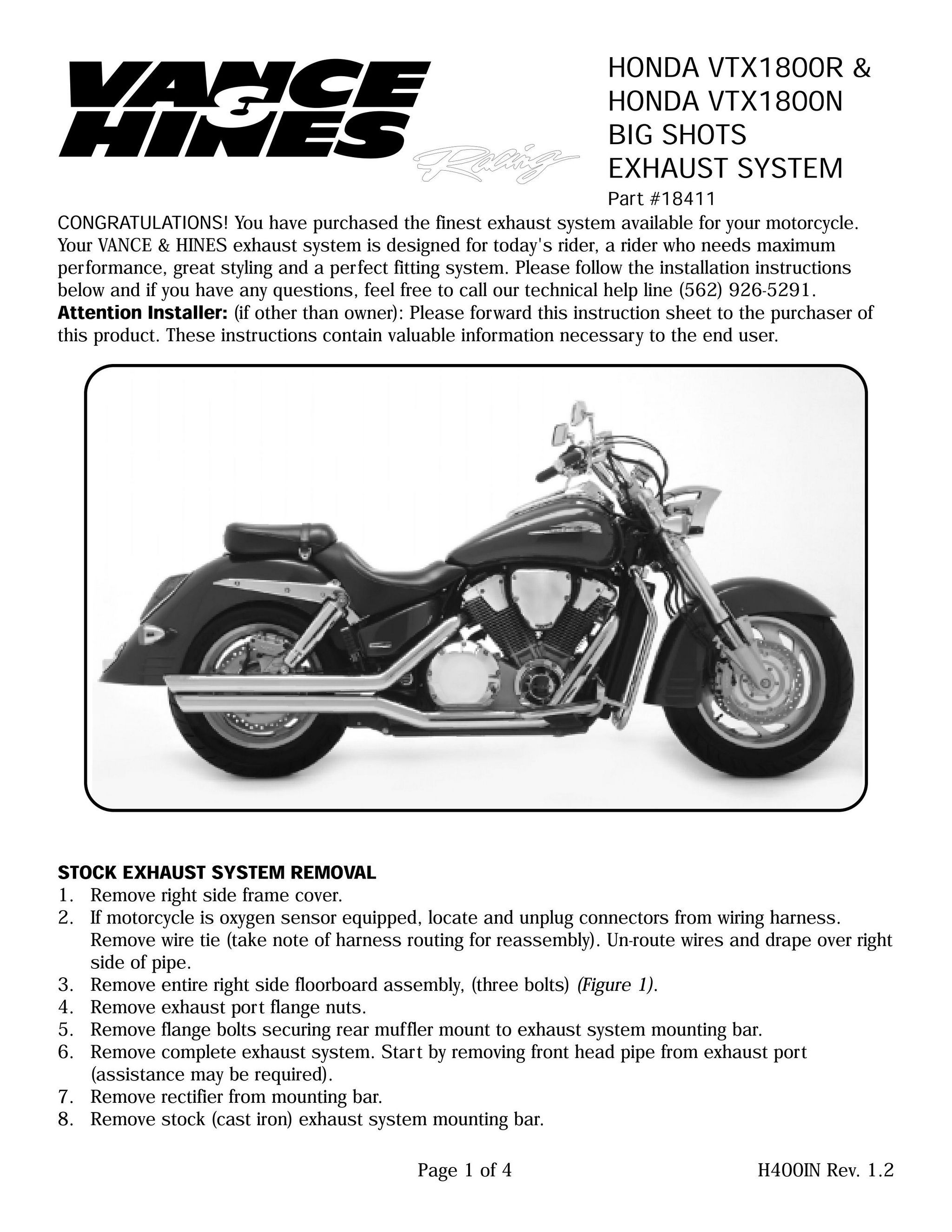 【VANCE&HINES】BIGSHOTS STAGGERED 全段排氣管 - 「Webike-摩托百貨」