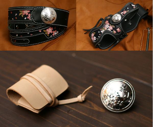 【DEGNER】花山 銀色 金屬裝飾鈕扣925(L) - 「Webike-摩托百貨」