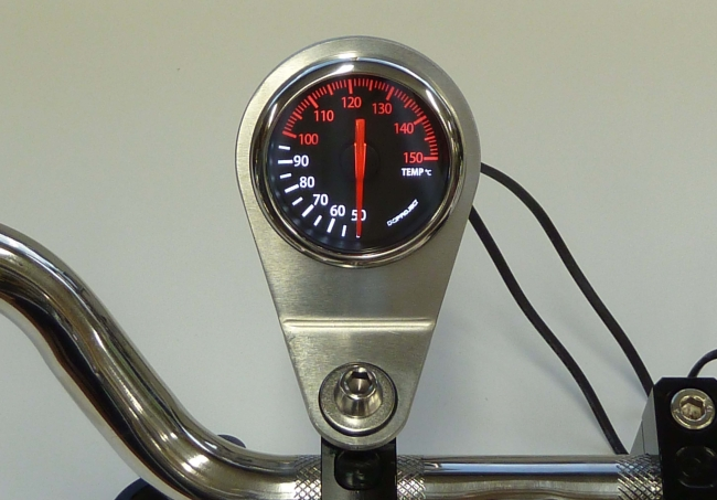 【N PROJECT】52Φ指針式溫度錶固定架 - 「Webike-摩托百貨」