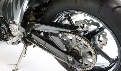 【NEXRAY CARBON DRY】鏈條蓋/ (450-550 Size Wheel 專用)  半光澤 - 「Webike-摩托百貨」