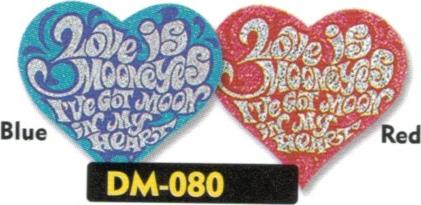 【MOON EYES】LOVE FLAKE 貼紙 - 「Webike-摩托百貨」
