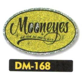 【MOON EYES】Oval 貼紙 - 「Webike-摩托百貨」