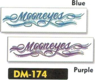 【MOON EYES】細條紋貼紙 - 「Webike-摩托百貨」