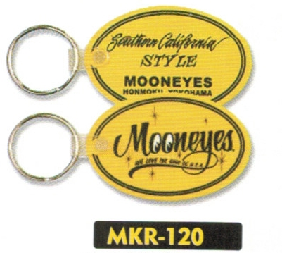 【MOON EYES】Rubber 鑰匙圈 - 「Webike-摩托百貨」