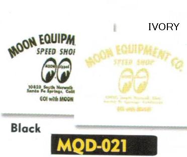 【MOON EYES】Moon Speed Shop Decal貼紙 - 「Webike-摩托百貨」