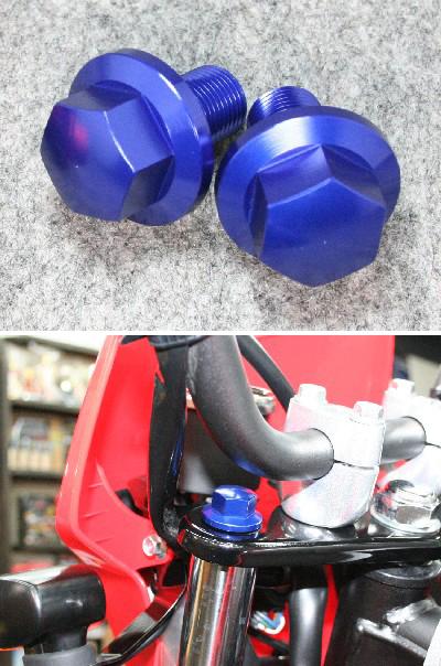 【TaGu(田口製作所)】上三角台螺絲 (藍色) - 「Webike-摩托百貨」
