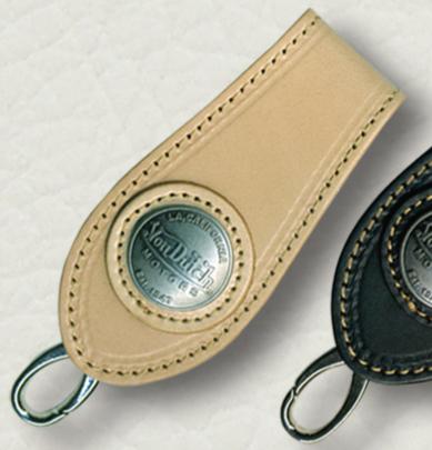 【Von Dutch】皮革鑰匙圈 - 「Webike-摩托百貨」
