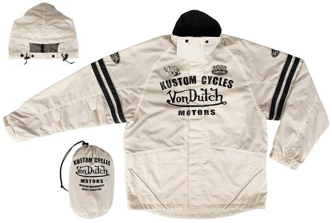 【Von Dutch】成套雨衣 - 「Webike-摩托百貨」