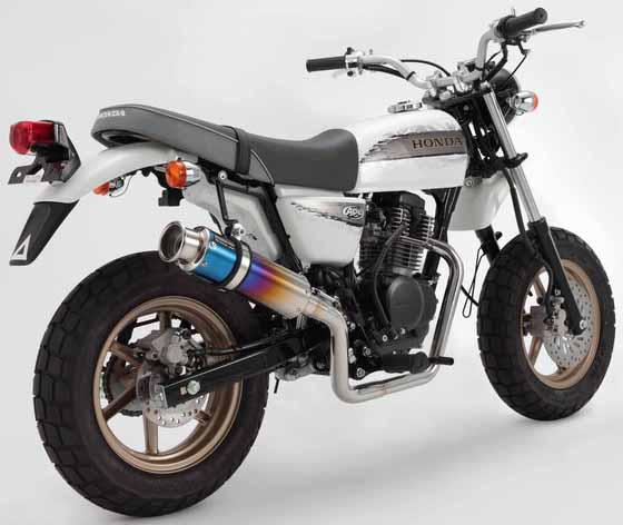 【BEAMS】SS300 TitaniumUp鈦合金消音器全段排氣管 - 「Webike-摩托百貨」