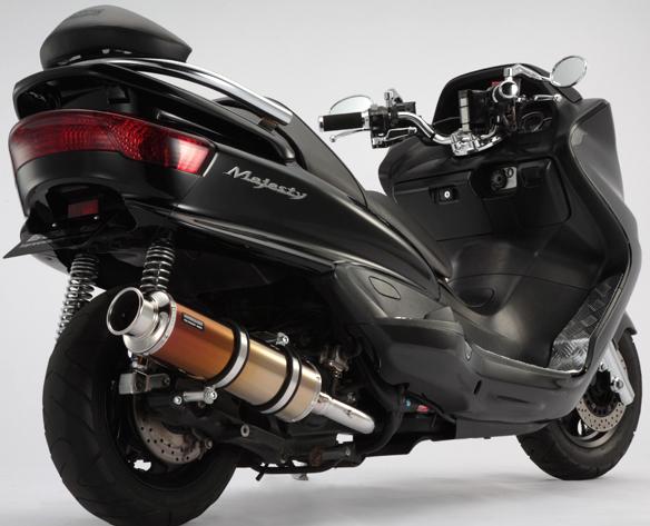 【BEAMS】SS400 TitaniumII 鈦合金消音器全段排氣管  - 「Webike-摩托百貨」