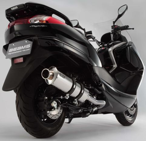 【BEAMS】ST型式 橢圓形全段排氣管 - 「Webike-摩托百貨」