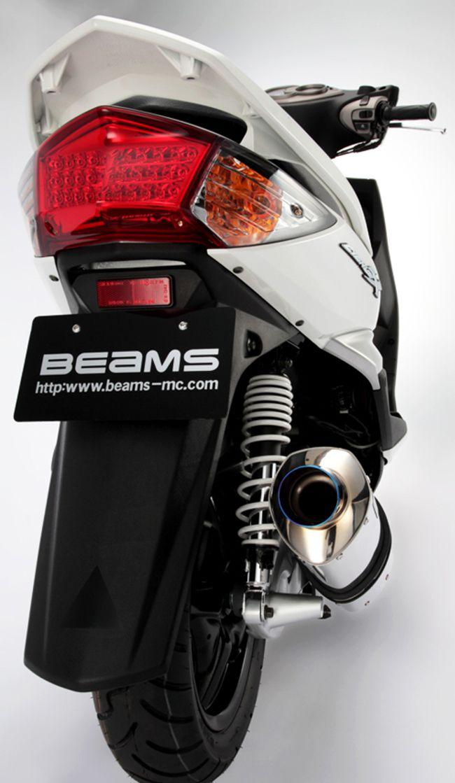 【BEAMS】菱形消音器排氣管尾段 - 「Webike-摩托百貨」