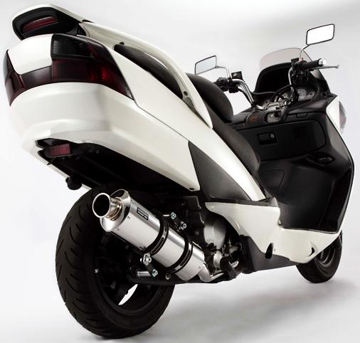 【BEAMS】ST 橢圓消音器全段排氣管 - 「Webike-摩托百貨」