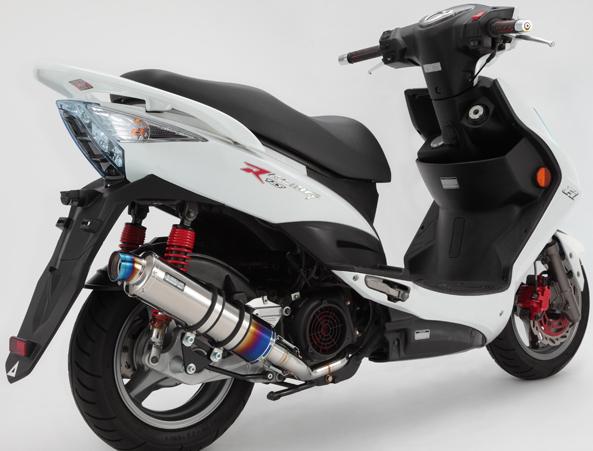 【BEAMS】R-EVO 鈦合金消音器競賽型排氣管尾段 - 「Webike-摩托百貨」