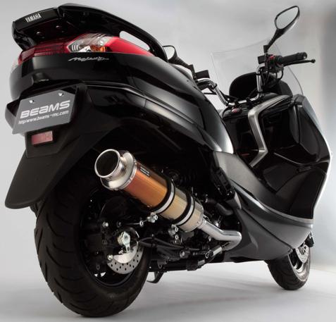 【BEAMS】SS400 SP型式 鈦合金II排氣管 - 「Webike-摩托百貨」