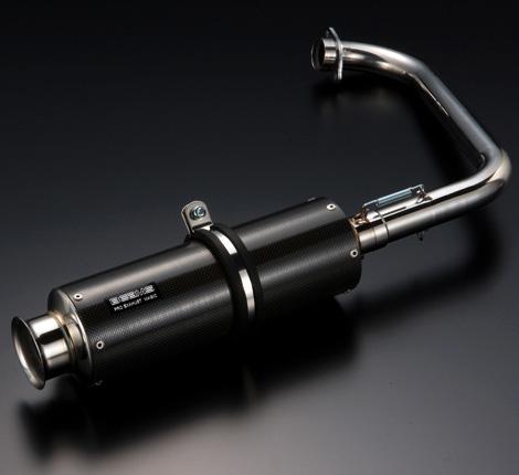 【BEAMS】SS300碳纖維全段排氣管 - 「Webike-摩托百貨」