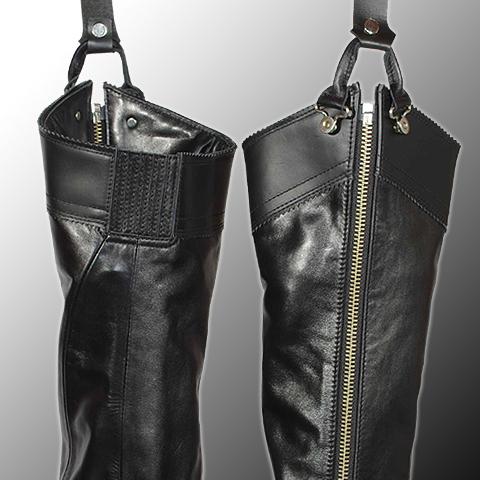 【KADOYA】BLACK CURVY 輕量長套管靴2 - 「Webike-摩托百貨」