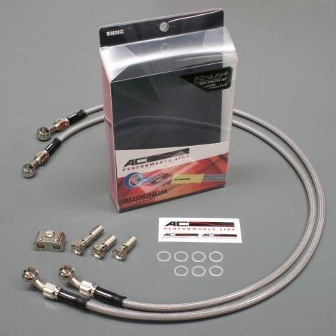 【AC PERFORMANCE LINE】車種專用 螺絲固定式金屬煞車油管套件 - 「Webike-摩托百貨」