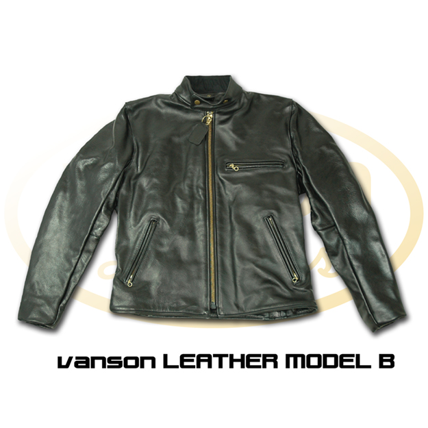 【VANSON】B型 皮革外套 - 「Webike-摩托百貨」