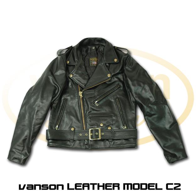 【VANSON】C2型 皮革外套 - 「Webike-摩托百貨」