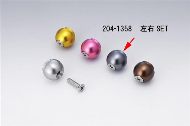 【KIJIMA】鋁合金把手端子(灰色) - 「Webike-摩托百貨」