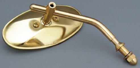【KIJIMA】Brass橢圓後視鏡桿 - 「Webike-摩托百貨」