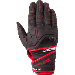 GOLDWIN 【All year ApparelOutlet】 Real Ride Protection Leather Gloves [ GSM 16601 ] 【Specials Items】