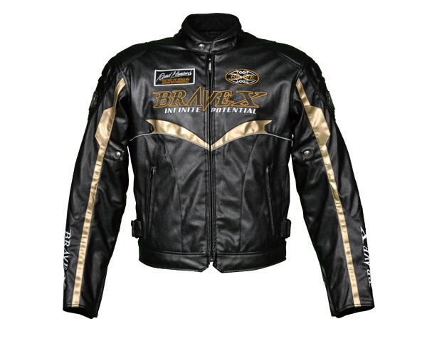 【BRAVE X】仿皮革夾克 - 「Webike-摩托百貨」