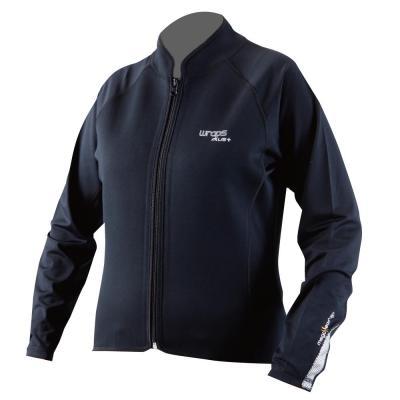 【Wraps】Wrap+Mega 發熱 女用全拉鍊內穿外套 - 「Webike-摩托百貨」