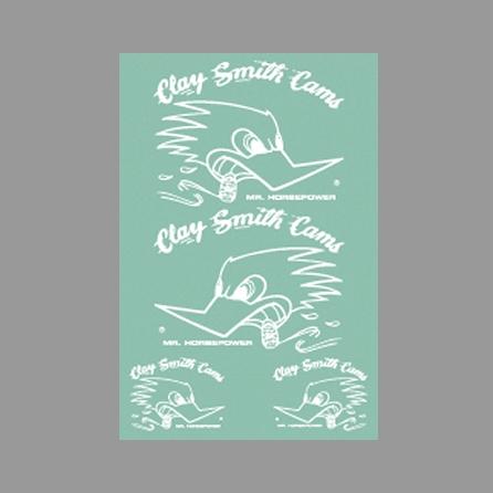 【Clay smith】WHITE MONO  貼紙 - 「Webike-摩托百貨」
