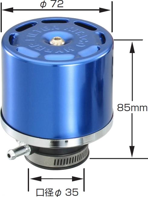 【KITACO】Hyper 高流量空氣濾芯 - 「Webike-摩托百貨」