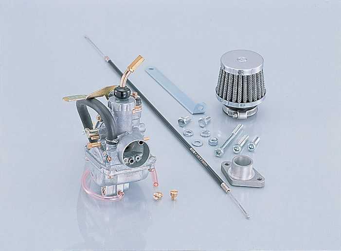 【KITACO】加大口徑化油器套件 MikuniVM Φ18 - 「Webike-摩托百貨」