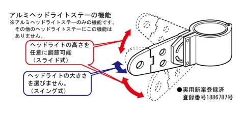 【KITACO】鋁合金頭燈支架 (黒/Φ27〜31) - 「Webike-摩托百貨」