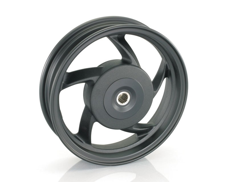 【KITACO】10英吋5爪鋁合金冠狀輪框 - 「Webike-摩托百貨」