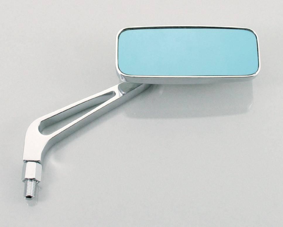 【KITACO】細長型方形後視鏡(電鍍) - 「Webike-摩托百貨」