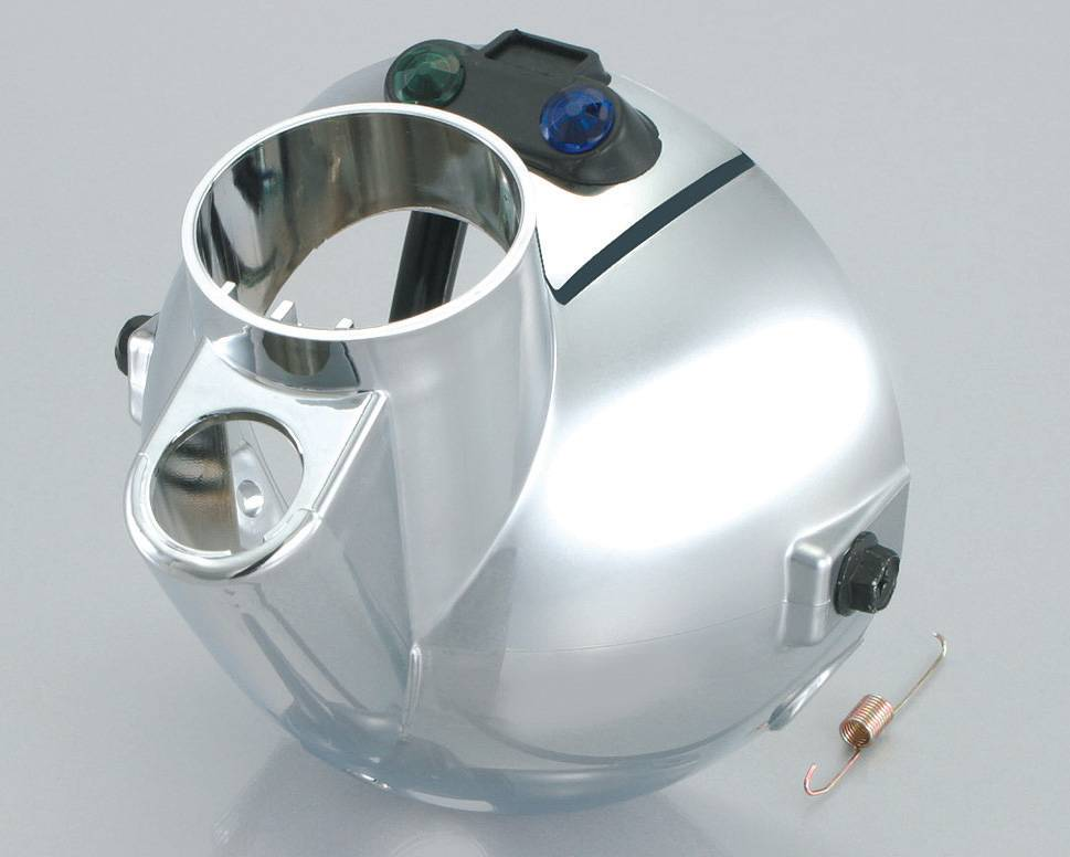 【KITACO】頭燈後殼(電鍍) - 「Webike-摩托百貨」