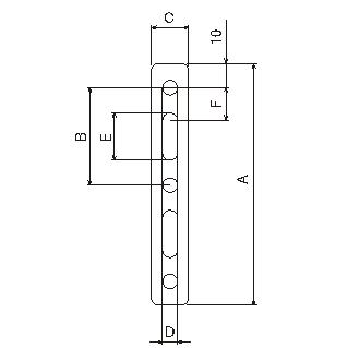 【DAYTONA】通用支架 15X100X1.2 M6 - 「Webike-摩托百貨」