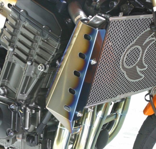 【K-FACTORY】鈦合金散熱器(水箱)導流罩 - 「Webike-摩托百貨」