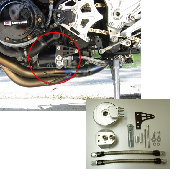 【N PROJECT】機油濾芯改裝套件 GPZ900R - 「Webike-摩托百貨」