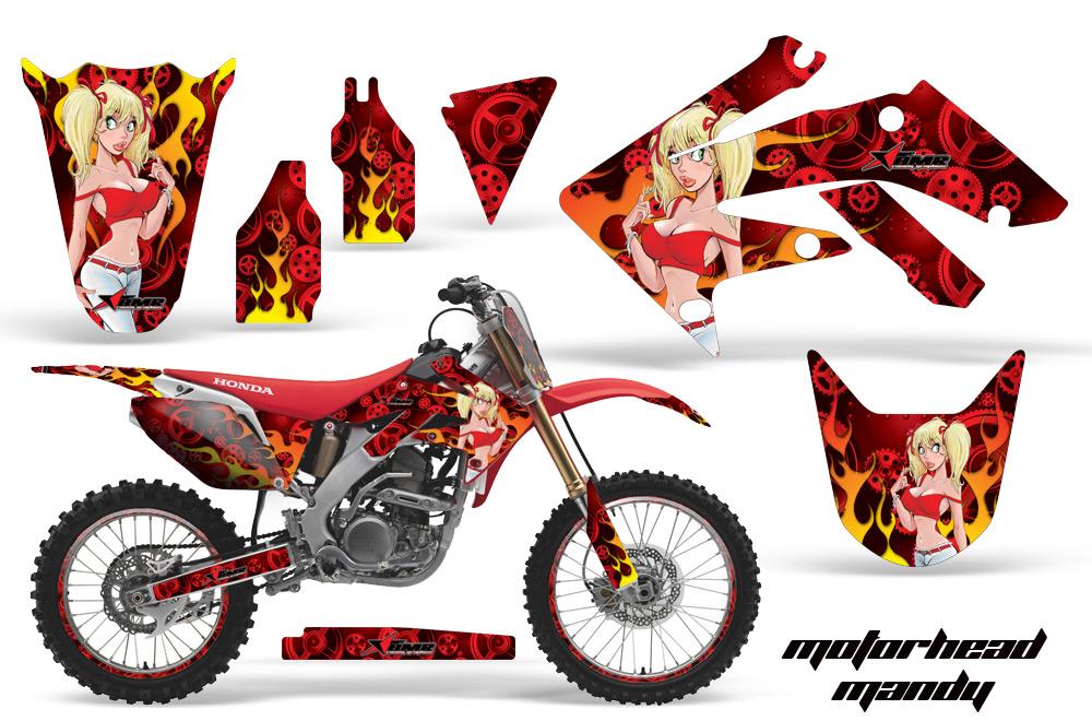 【AMR】AMR 圖案貼紙(全套件) - 「Webike-摩托百貨」